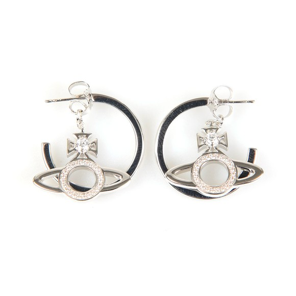 Vivienne Westwood Womens Silver Miranda Earrings