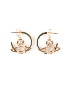 Vivienne Westwood Womens Pink Miranda Earrings
