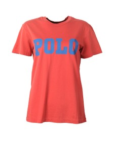 Polo Ralph Lauren Womens Red Big Polo T-Shirt