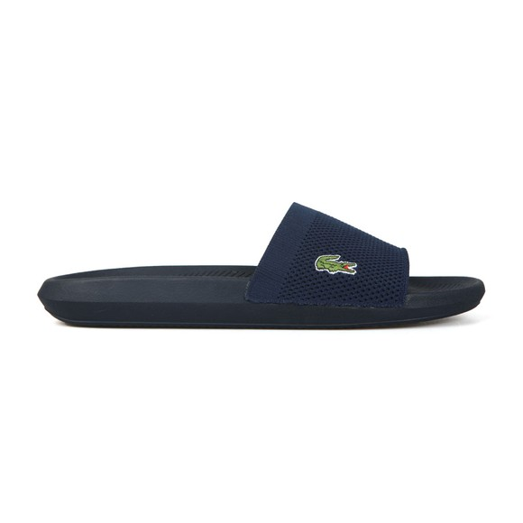 Lacoste Mens Blue Croco Slide main image
