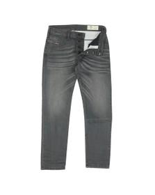 Diesel Mens Grey Bazer Tapered Jean