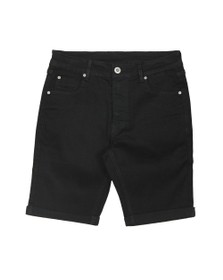 7831bd3861 Kings Will Dream Mens Black Notre Clean Denim Short