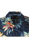 Tommy Hilfiger Mens Blue S/S Hawaiian Shirt