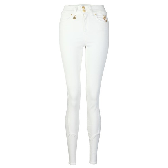 Holland Cooper Womens White Jodphur Jean