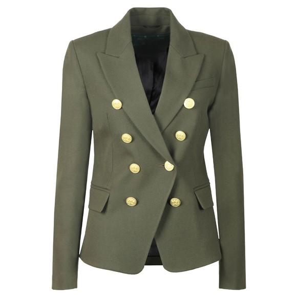 Holland Cooper Womens Green Knightsbridge Blazer main image