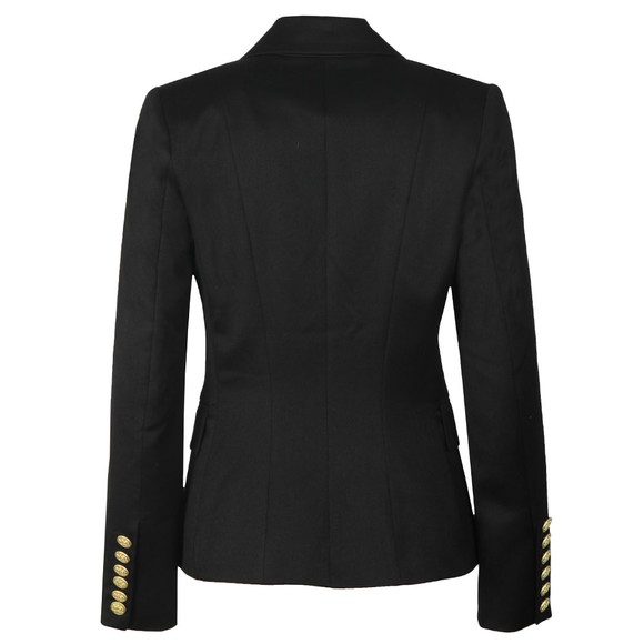Holland Cooper Womens Black Knightsbridge Blazer main image
