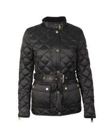 Holland Cooper Womens Black Heritage Quilted Jacket