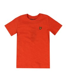 Lyle And Scott Junior Boys Orange Slub T Shirt