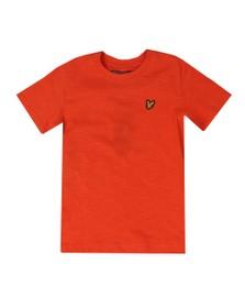 Lyle And Scott Junior Boys Orange Slub T Shirt