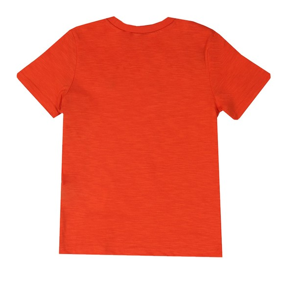 Lyle And Scott Junior Boys Orange Slub T Shirt main image