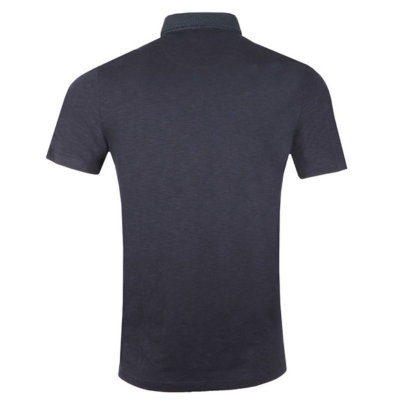 Ted Baker Mens Blue Geo Collar Polo main image