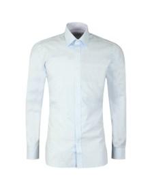 Ted Baker Mens Blue Spot Print Shirt