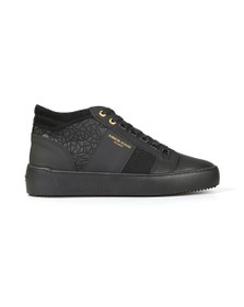 Android Homme Mens Black Propulsion Mid Rubber Mosaic Trainer