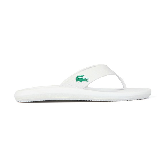 Lacoste Mens White Croco Sandle main image