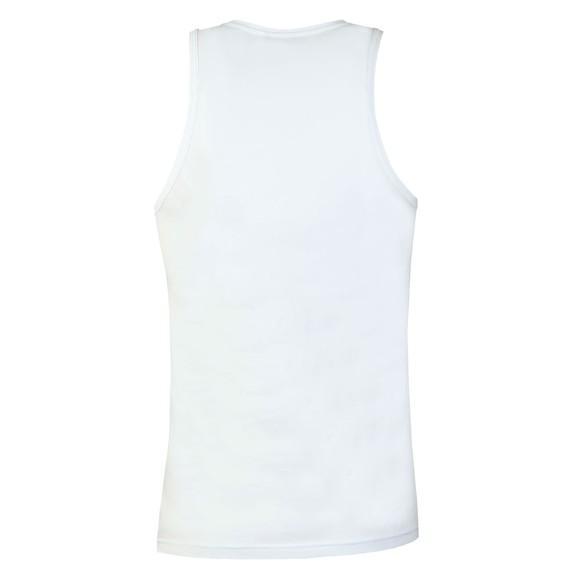 Emporio Armani Mens White Stretch Cotton Vest main image