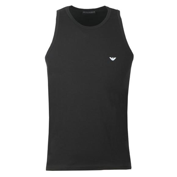 Emporio Armani Mens Black Stretch Cotton Vest main image