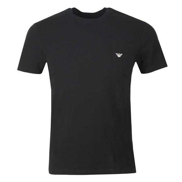 Emporio Armani Mens Black Stretch Crew Neck T Shirt main image