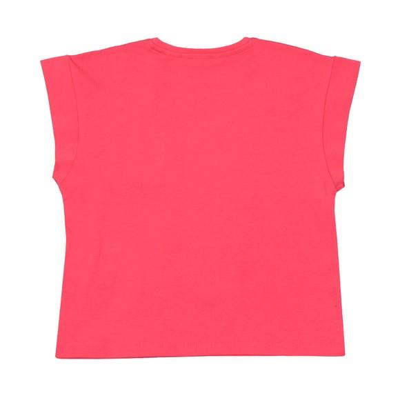 Guess Girls Pink Icon Logo T-shirt