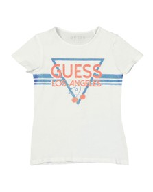 Guess Girls White Los Angeles Logo T-Shirt
