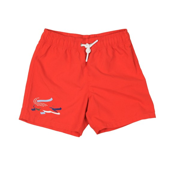 Lacoste Boys Red Boys MJ3303 Swim Short main image
