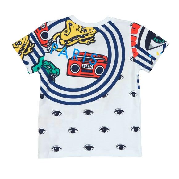 Kenzo Baby Boys White Fino Wax Kenzo T Shirt main image