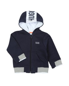 BOSS Baby Boys Blue Full Zip Hoody