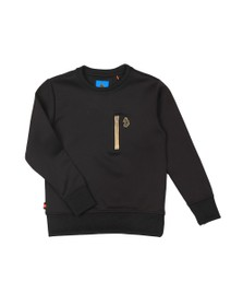 Luke 1977 Boys Black 18 Carat Sweatshirt