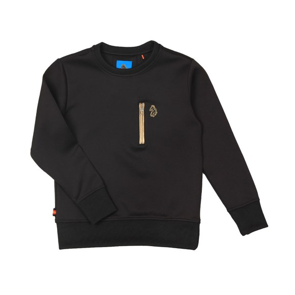 Luke 1977 Boys Black 18 Carat Sweatshirt main image