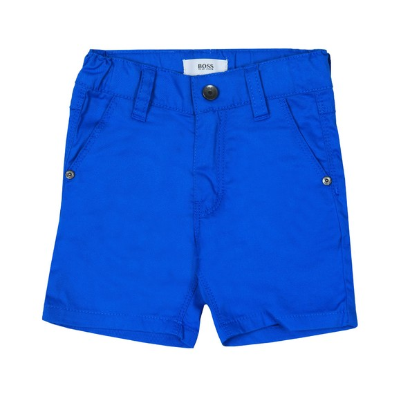 BOSS Baby Boys Blue Chino Short main image