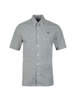 S/S Two Colour Gingham Shirt