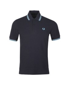 Fred Perry M12 Mens Blue Tipped Polo