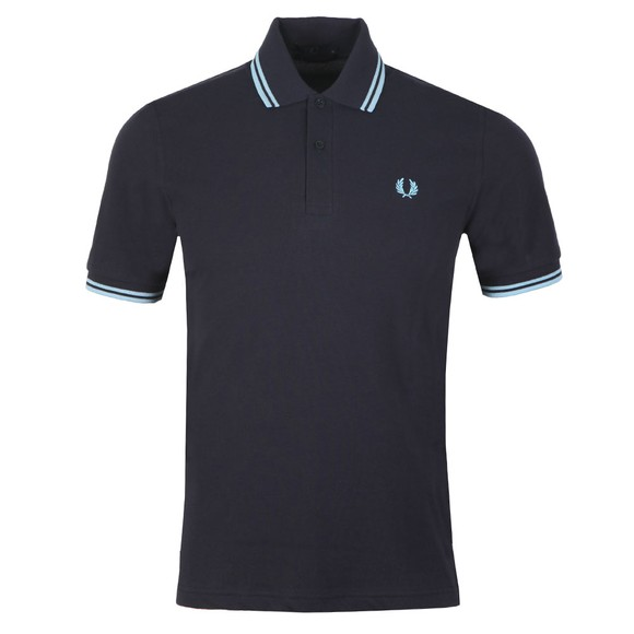 Fred Perry M12 Mens Blue Tipped Polo main image