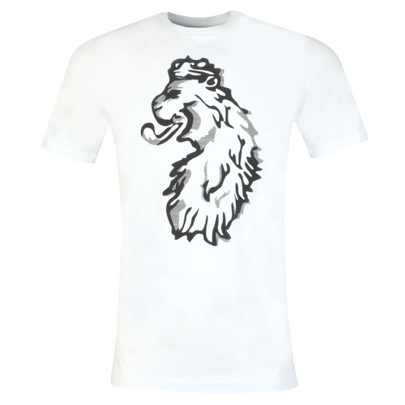 Luke 1977 Mens White Flocker Printed T-Shirt main image