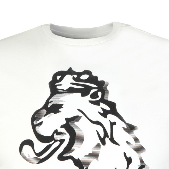 Luke 1977 Mens White Flocker Printed Tee main image
