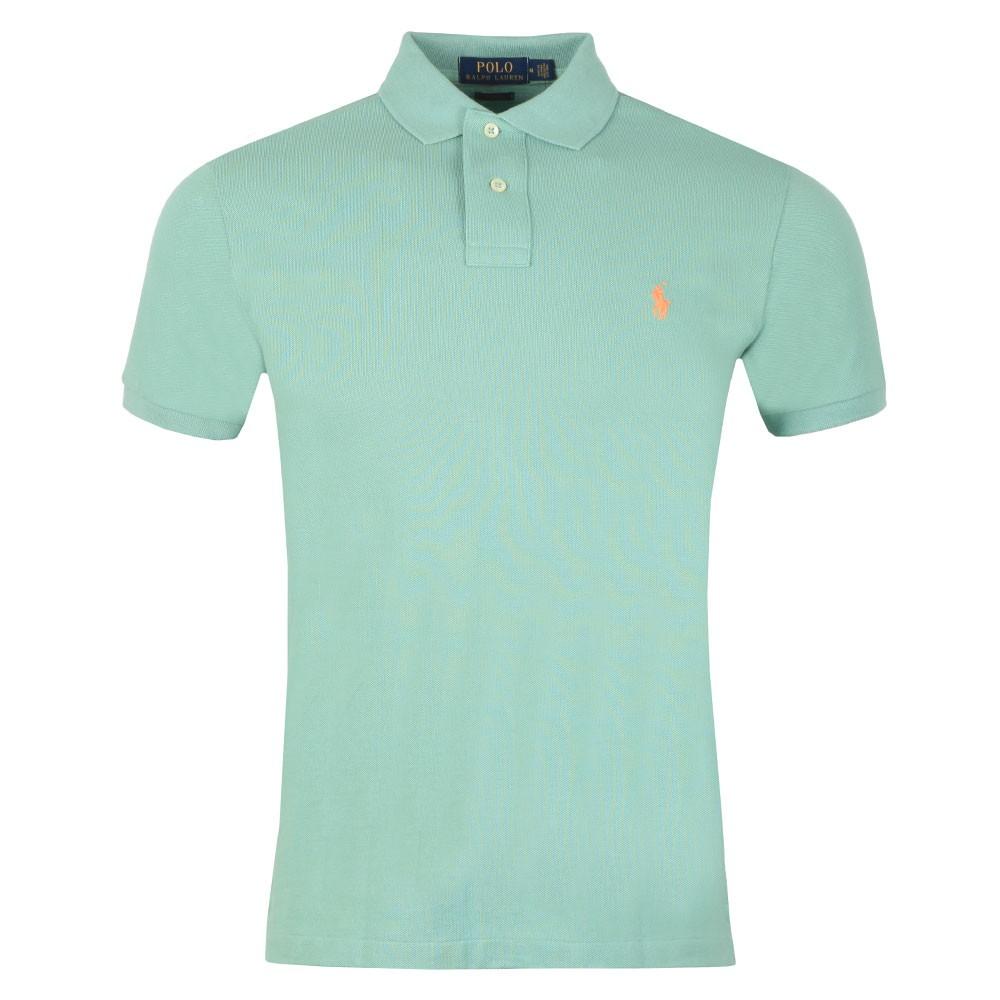 01a5abb2 Mens Green Slim Fit Polo Shirt