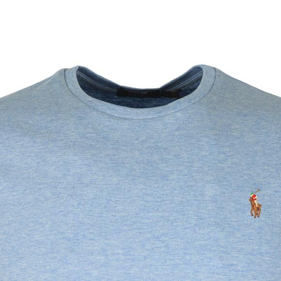 Polo Ralph Lauren Mens Blue Custom Slim Fit Pima Cotton T Shirt