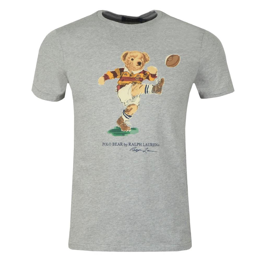 T Shirt By Lauren Polo Bear Ralph Football VqUSMpz