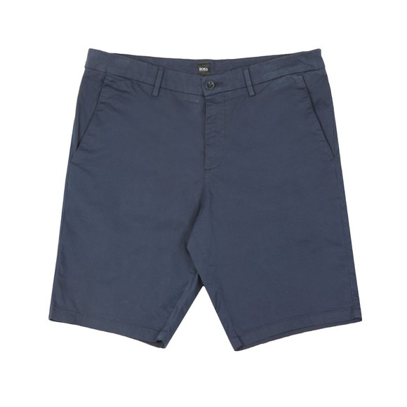 BOSS Mens Blue Athleisure Liem 4-5 Chino Short