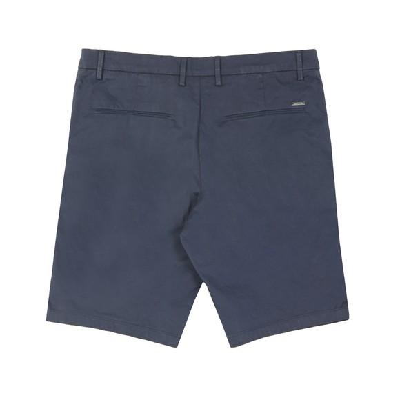 BOSS Mens Blue Athleisure Liem 4-5 Chino Short