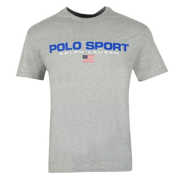 Polo Sport Ralph Lauren Mens Grey Logo T Shirt