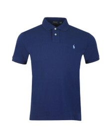 Polo Ralph Lauren Mens Blue Slim Fit Polo Shirt