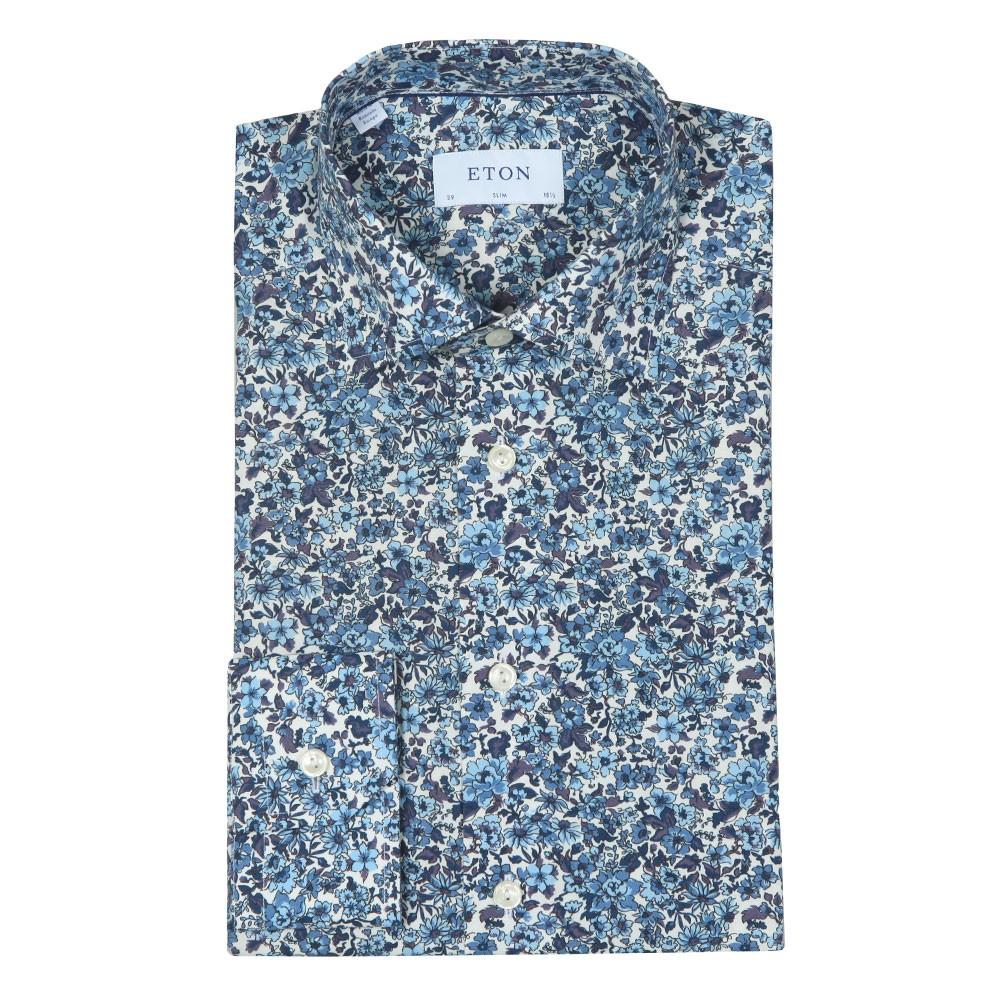Floral Print Poplin Shirt main image