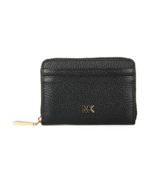 Michael Kors Womens Black Pebbled Leather Purse