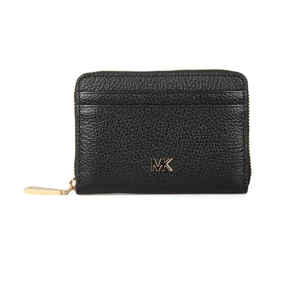Michael Kors Womens Black Pebbled Leather Purse main image