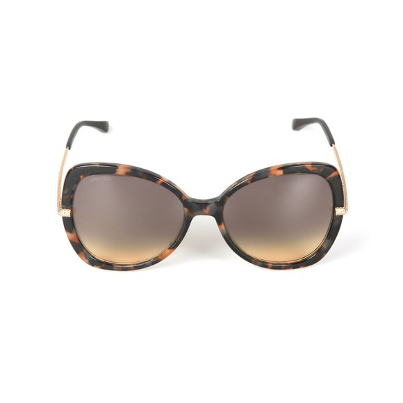Jimmy Choo Womens Brown Cruz Sunglasses main image
