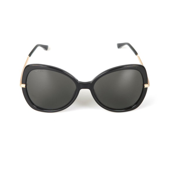 Jimmy Choo Womens Black Cruz Sunglasses