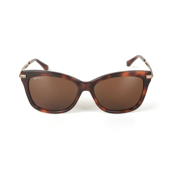 Jimmy Choo Womens Brown Shade Sunglasses main image