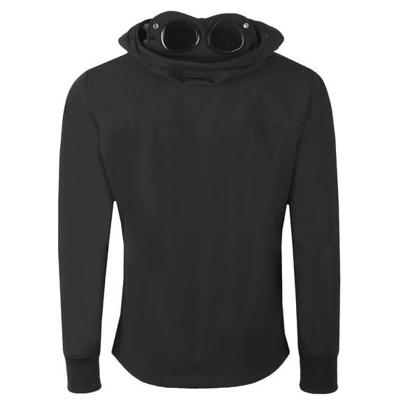 C.P. Company Mens Black Soft Shell  Goggle Jacket main image