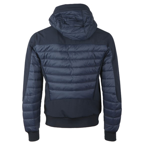 C.P. Company Mens Blue Puffer Mix Shell Jacket main image