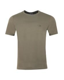 C.P. Company Mens Green Printed Goggle T Shirt